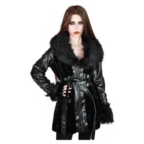 kabát KILLSTAR Krystina Faux-Fur