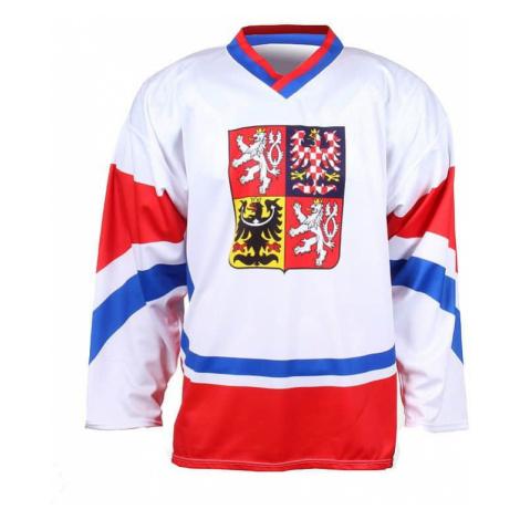 hokejový dres Replika ČR 2011 barva: bílá;velikost oblečení: L Merco