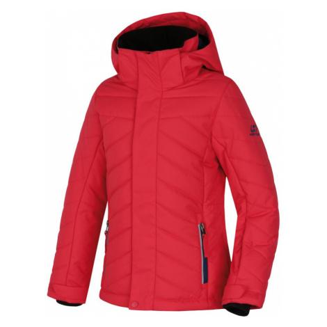 HANNAH ROVENA JR Dětská lyžařská bunda 10000267HHX01 Teaberry
