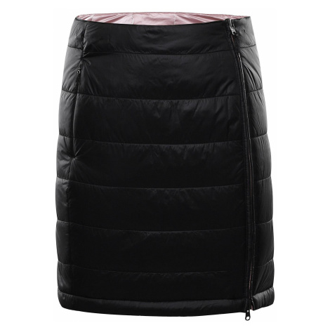 Dámská zimní oboustranná sukně Alpine Pro TRINITY 7 - černá