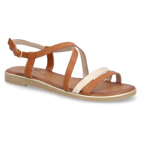 Jana sandály - hladká kůže