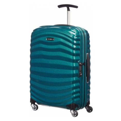 Samsonite Kabinový cestovní kufr Lite-Shock Spinner 98V 36 l - modrá
