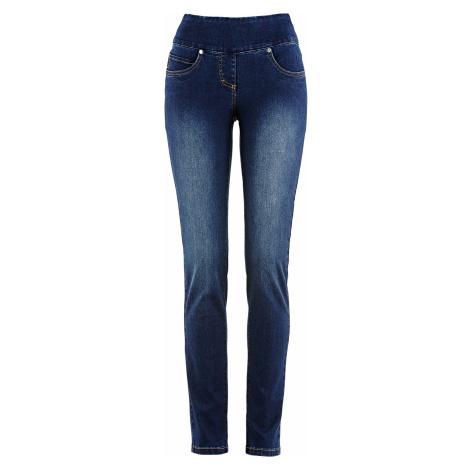 Velmi strečové džíny s pohodlnou pasovkou Bonprix