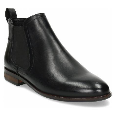 Kožená černá dámská Chelsea obuv Baťa