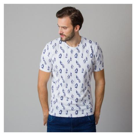 Pánské tričko s potiskem plachetnic 11806 Willsoor