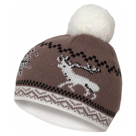 Husky Cap 13, sv. hnědá Dámská čepice