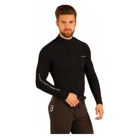 Pánské triko s dlouhým rukávem Litex J1103 | černá
