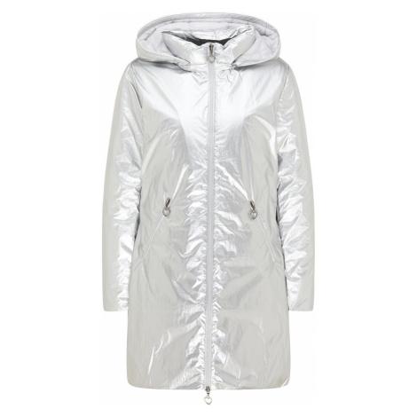 MYMO Zimní kabát stříbrná