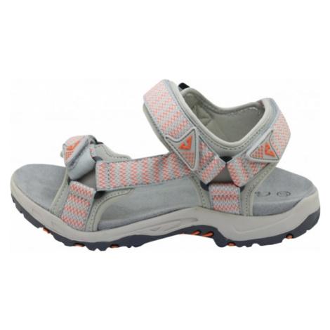 Crossroad MADDY šedá - Dámské sandále