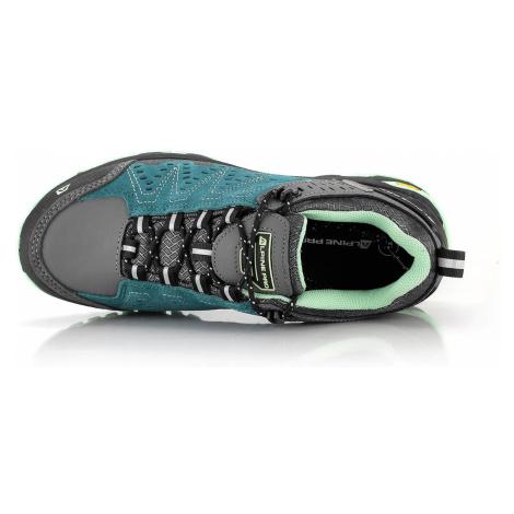 Outdoorová obuv Alpine Pro CHEFORNAK - tyrkysová