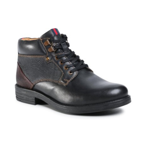 Šněrovací obuv Sergio Bardi MI07-C743-658-02 Přírodní kůže (useň) - Lícová