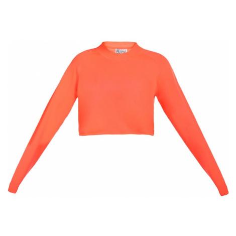 MyMo ATHLSR Sportovní svetr svítivě oranžová