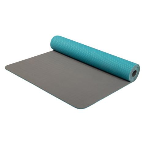 Podložka Yate Yoga Mat dvouvrstvá TPE Barva: modrá / šedá