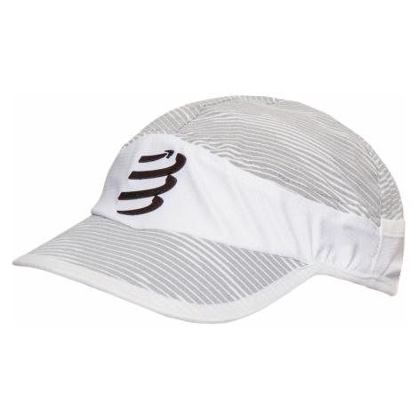 Kšiltovka Compressport ICE CAP bílá