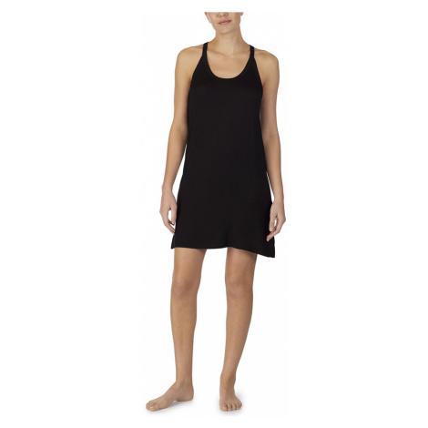 DKNY noční košilka YI2619405 černá - Černá