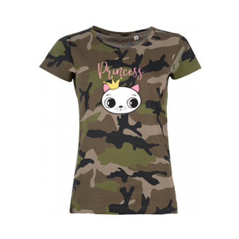 Dámské maskáčové tričko Princess