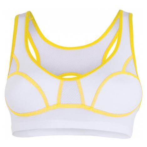 SENSOR LISSA podprsenka bílá/žlutá
