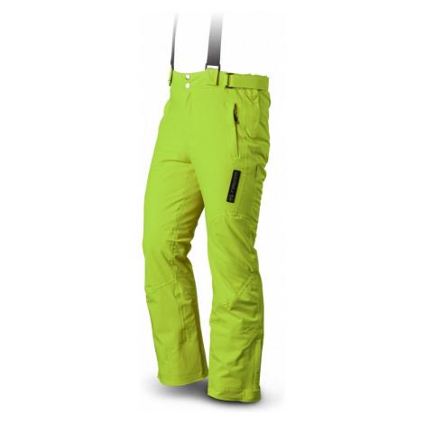 Pánské lyžařské kalhoty TRIMM Rider signal green