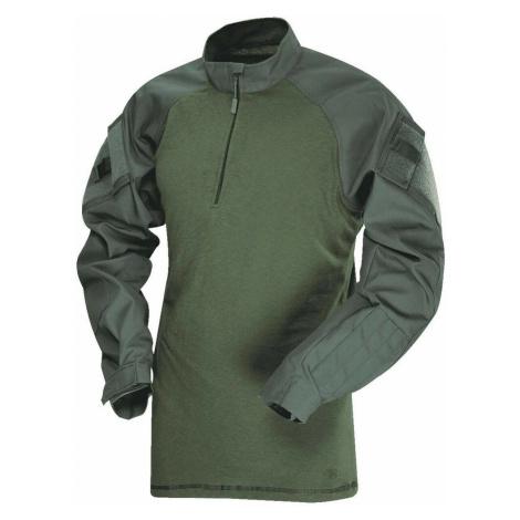Košile Combat T.R.U. 1/4 Zip TruSpec® – Olive Drab Tru-Spec