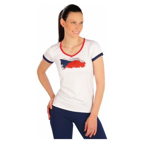 LITEX Tričko dámské s krátkým rukávem J1256100 Bílá
