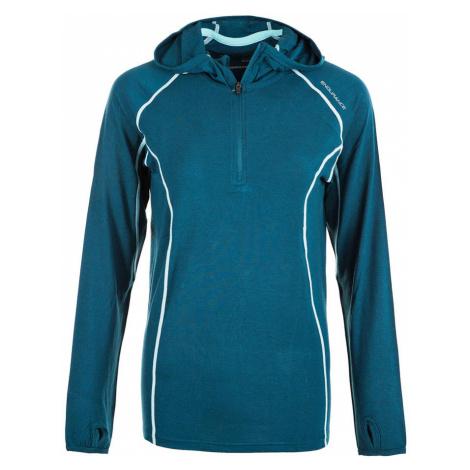 Dámská mikina Endurance Vesta Wool Midlayer modrá,