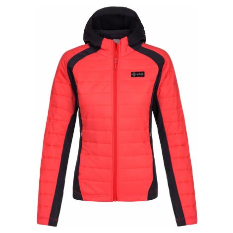 KILPI Dámská outdoorová bunda - větší velikosti ADISA-W LLX007KIPNK Růžová