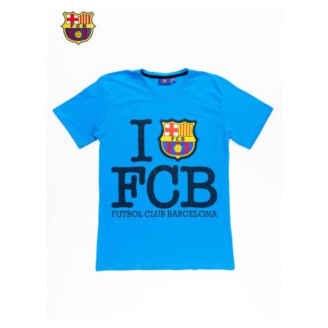 Blue FC BARCELONA men´s t-shirt Fashionhunters