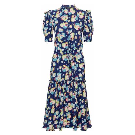 Lauren Ralph Lauren Košilové šaty tmavě modrá / světle zelená / královská modrá / pitaya / bílá
