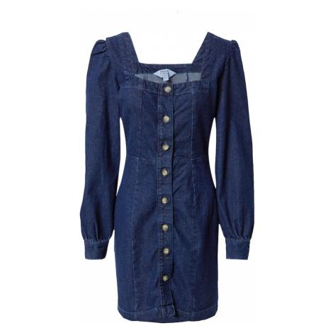 Miss Selfridge Šaty tmavě modrá