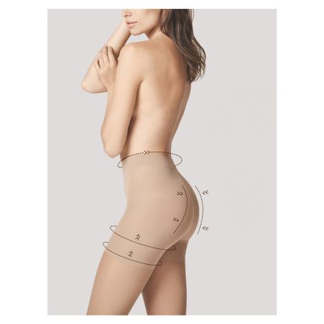 Dámské punčochové kalhoty Fiore Body Care Total Slim M 5106 20 den 5XL light natural/odstín béžo