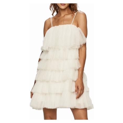 Bílé letní šaty - MISS SIXTY