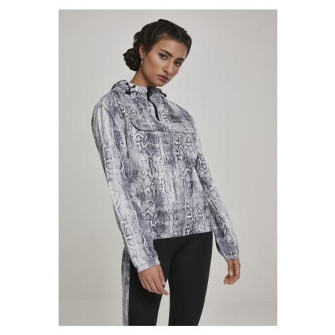 Ladies Pattern Pull Over Jacket - snake Urban Classics