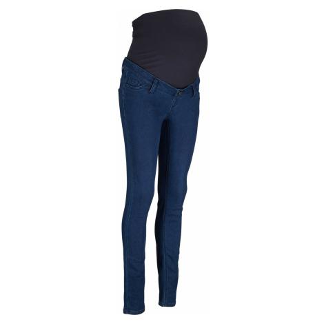 Těhotenské termo džíny s hebounkou vnitřní stranou Bonprix