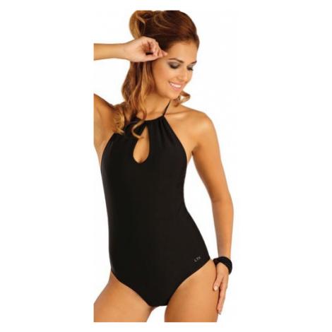 Dámské jednodílné plavky string Litex 57429 | černá