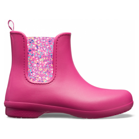 Crocs Crocs Freesail Chelsea Boot - Berry/Dots W5