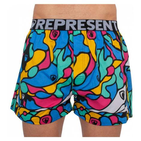 Pánské trenky Represent exclusive Mike hippie modré