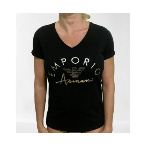 Dámské triko Emporio Armani 164334 0P291 černá | černá