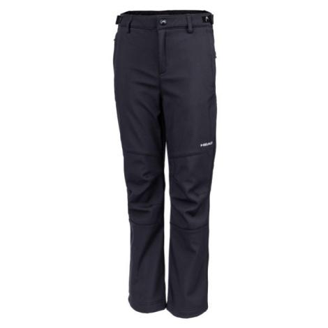 Head NAXOS černá - Dětské softshellové kalhoty