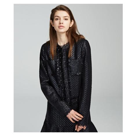Sako Karl Lagerfeld Karl'S Treasure Boucle Jacket - Černá