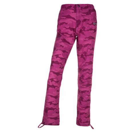 KILPI Dámské outdoor kalhoty MIMICRI-W IL0329KIPNK Růžová