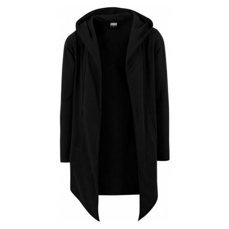 Pánský cardigan s kapucí Tortuga černá Urban Classics