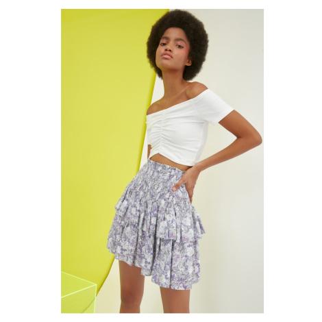 Trendyol Multicolor Flywheel Skirt