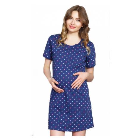 Dámská noční košile mateřská Vienetta Secret Simona | šedá