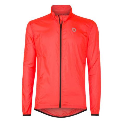 Briko FRESH PACKABLE oranžová - Lehká cyklistická bunda