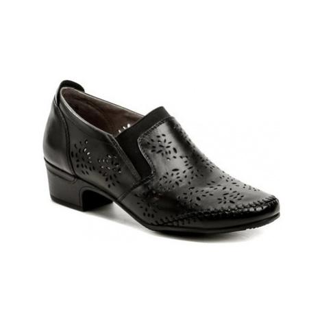 Jana 8-24315-26 černá dámská obuv Černá