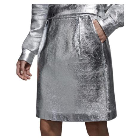 Stříbrná sukně - KARL LAGERFELD