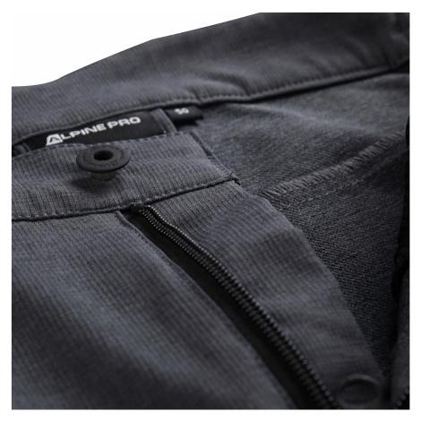 Pánské softshellové kalhoty Alpine Pro TIMER - šedo-černá