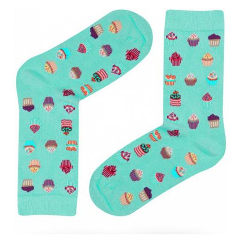 Dámské ponožky John Frank WJFLSFUN19-12 | mentolová