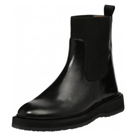 ANGULUS Chelsea boty černá