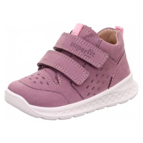 dívčí celoroční obuv BREEZE, Superfit, 1-000363-8510, růžová